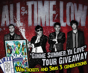 Win - All Time Low Tickets/Sims Generations Game