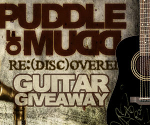 Win A Custom Epiphone Acoustic Guitar Signed By Puddle of Mudd