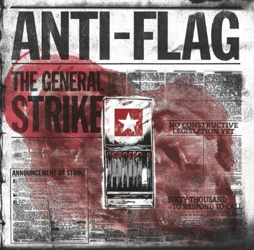 Anti-Flag 'The General Strike' cover art