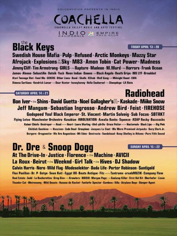 Refused To Reunite At Coachella Full Lineup