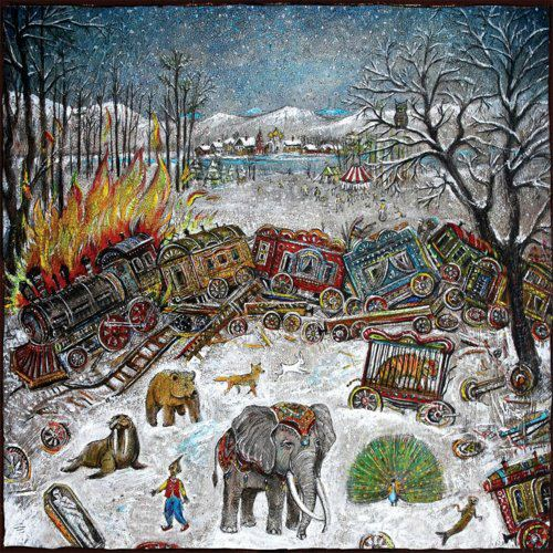 mewithoutYou 'Ten Stories' Cover Art