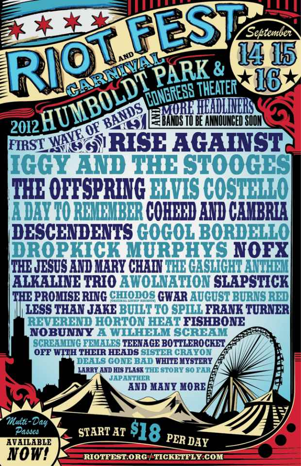Rise Against, A Day To Remember, Chiodos Announced For Riot Fest