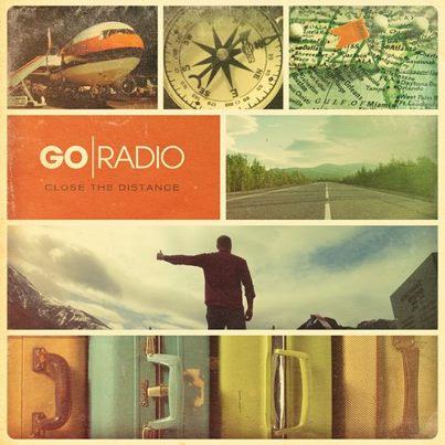 Go Radio 'Close The Distance' Cover Artwork