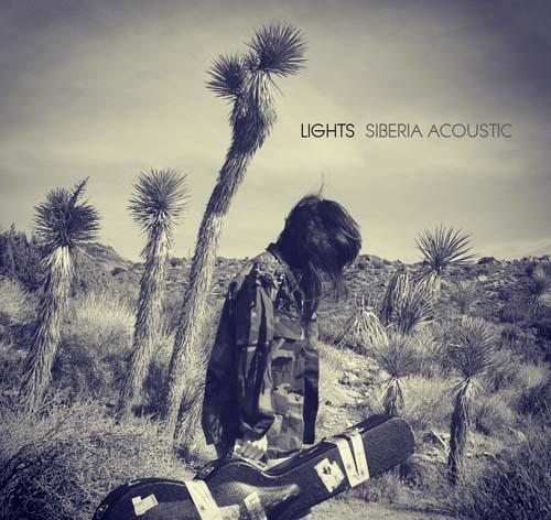 LIGHTS 'Siberia Acoustic' Album Cover Artwrok