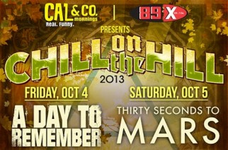 A Day To Remember, All Time Low, Pierce The Veil, The Wonder Years To Play Chill On The Hill Festival