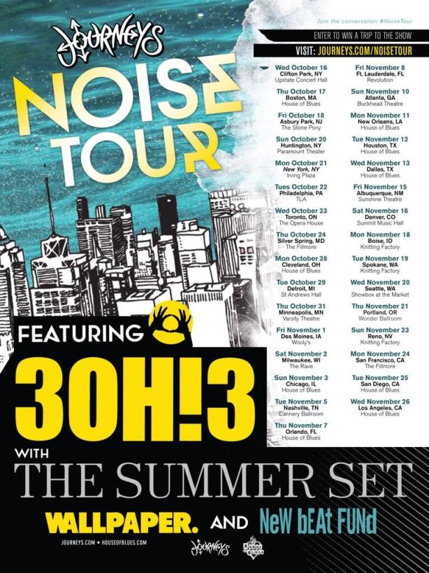 3OH!3 The Summer Set Announce Fall Tour