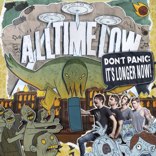 All Time Low Announce 'Don't Panic It's Longer Now!' Album Cover Artwork
