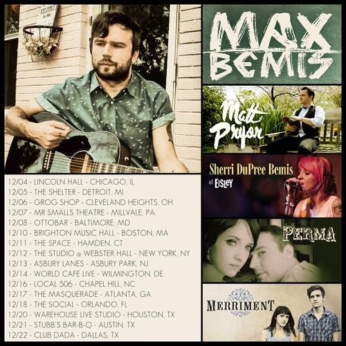 Max Bemis Announces Acoustic Tour With Matt Pryor, Perma, Sherri DuPree-Bemis, And Merriment