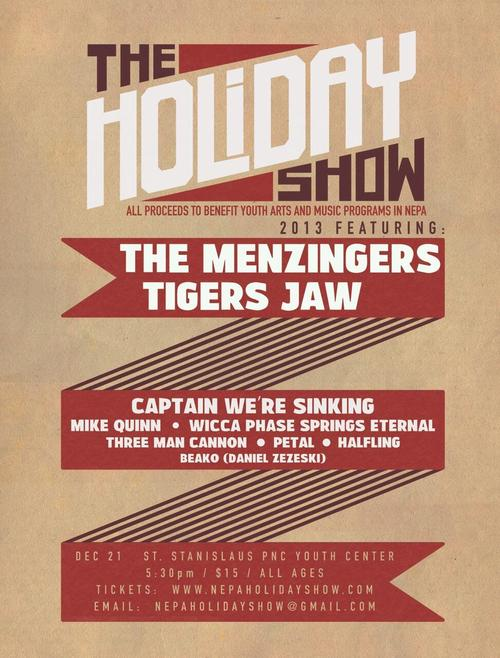 The Menzingers And Tigers Jaw Announced Holiday Show