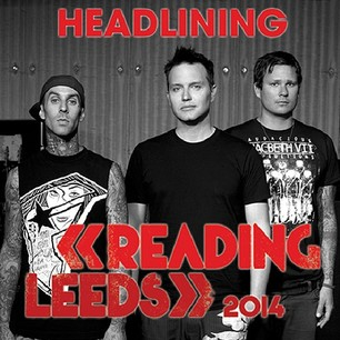 Blink-182 To Headline Reading And Leeds Festivals In 2014