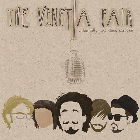The Venetia Fair Cover EP The Venetia Fair...Basically Just Does Karaoke Artwork