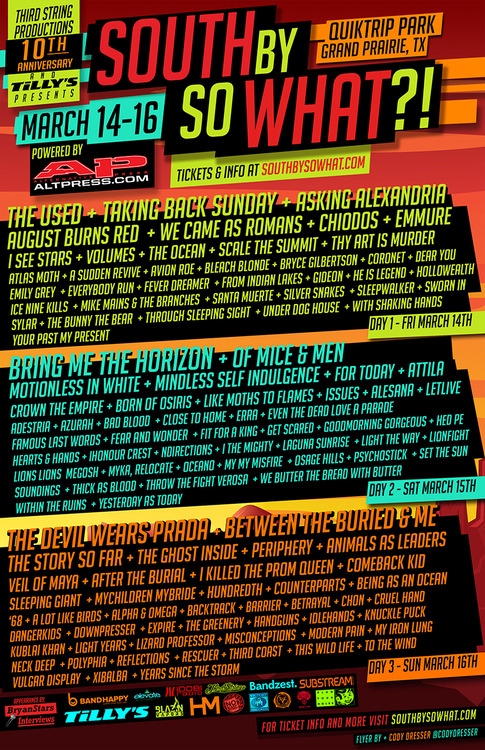 South By So What Festival Announces 2014 Lineup