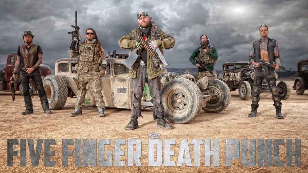 Five Finger Death Punch, Volbeat Add Dates To Their Fall U.S. Tour