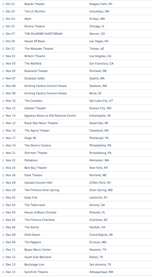 Black Veil Brides Announce U.S. Headlining Tour