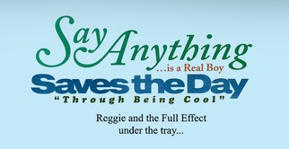 Say Anything, Saves The Day, Reggie And The Full Effect Announce Anniversaries Tour