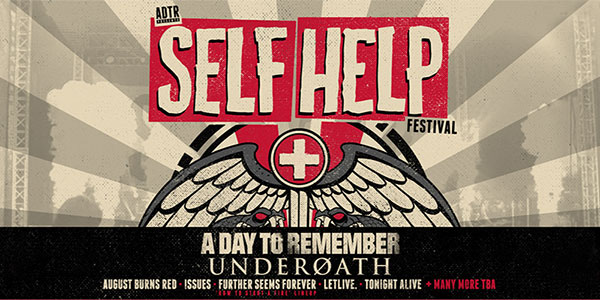 A Day To Remember, Underoath, August Burns Red, More Announced For Self-Help Fest 2016