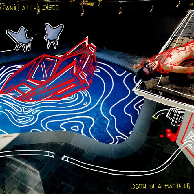 Panic! At The Disco 'Death Of A Bachelor' Cover Artwork