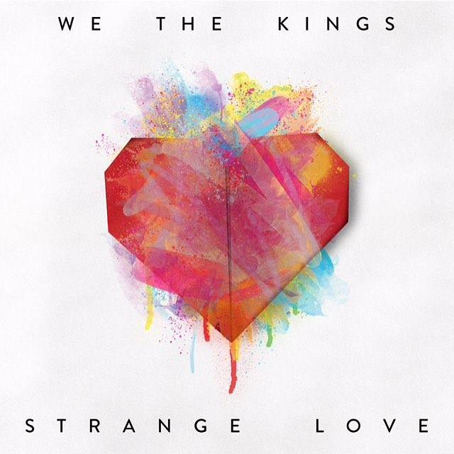 We The Kings 'Strange Love' Album Artwork