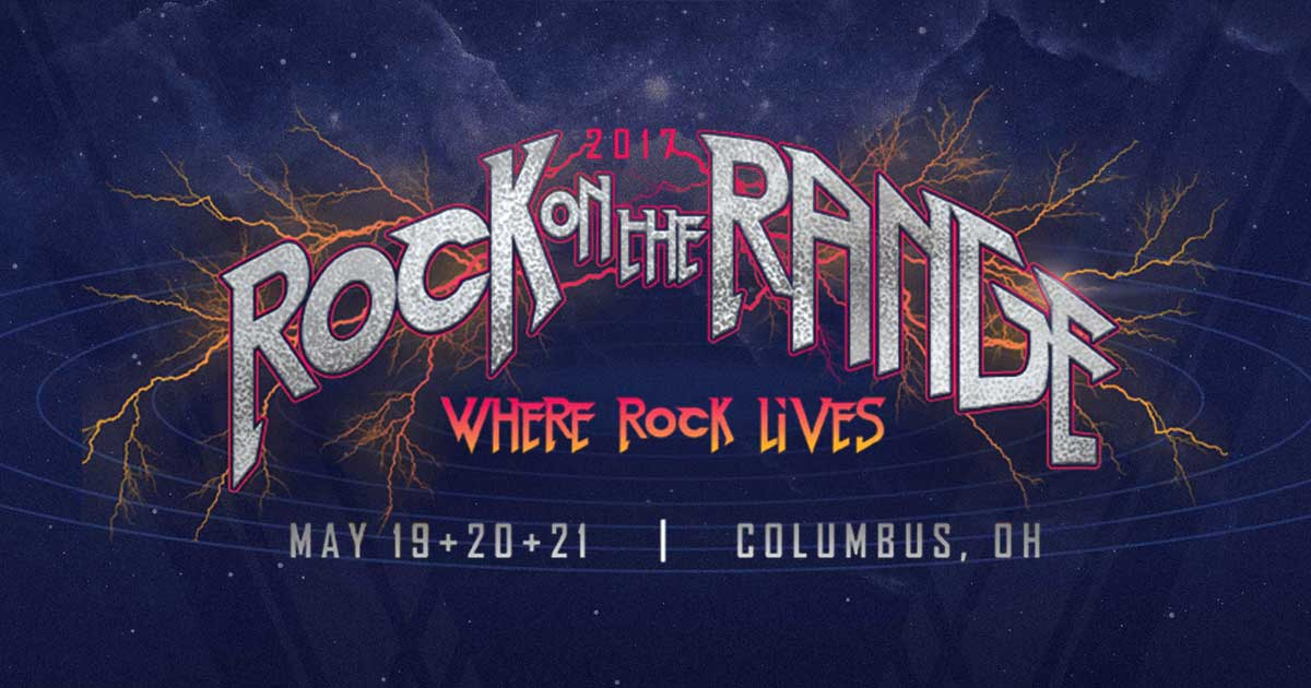 2017 Rock On The Range Set Times Announced