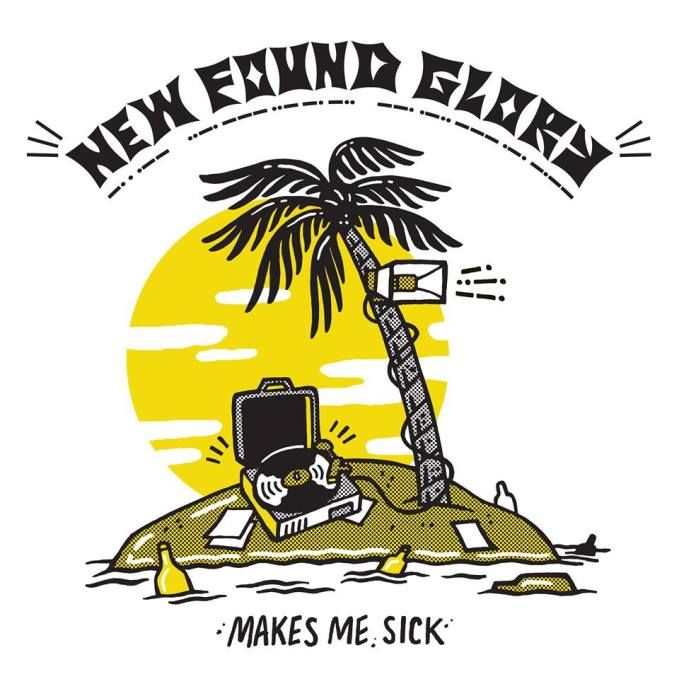 New Found Glory Makes Me Sick Album Artwork