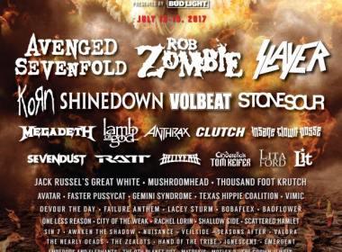 Rock Fest 2017 Lineup