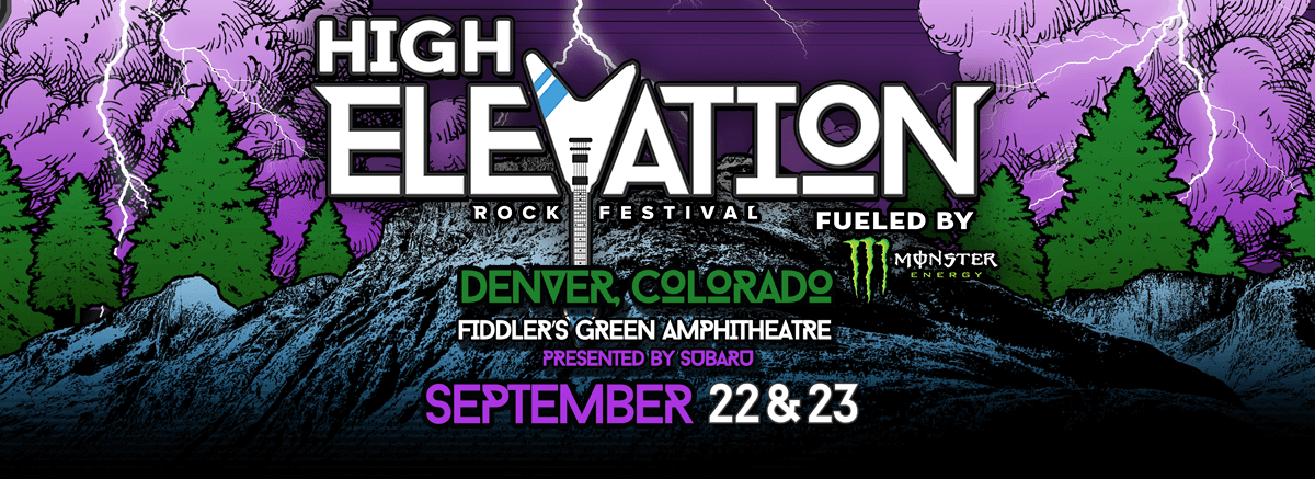 Five Finger Death Punch, Korn, Stone Sour Announced For 2017 High Elevation Rock Festival