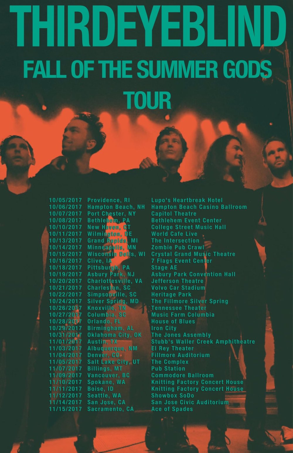 Third Eye Blind Announce Fall US Headlining Tour