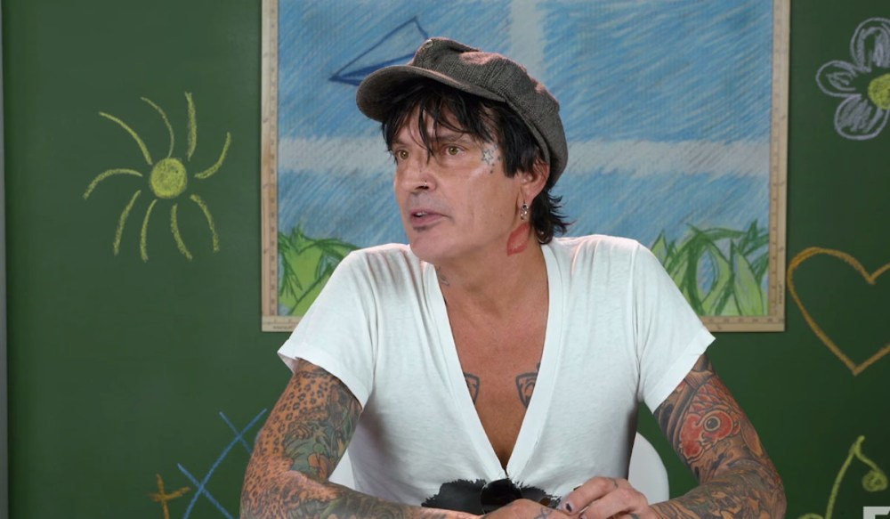 Watch Tommy Lee Reacts To Kids React To Motley Crue
