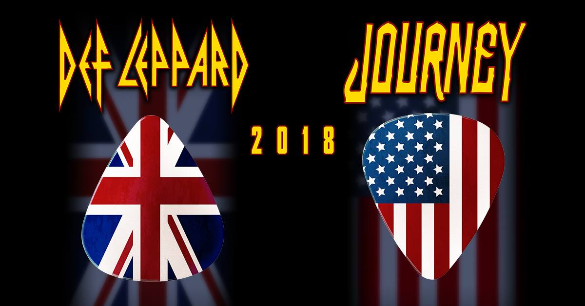 Def Leppard, Journey Announce 2018 North American Tour