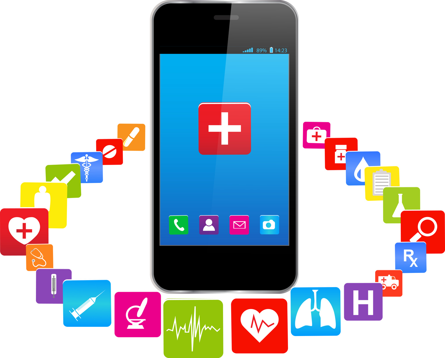 mobile health care apps, mhealth, provide mental health care treatment