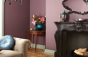 Black And White Feature Wall Wallpaper Purples Paint Wickes Co Uk