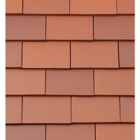 Redland Rosemary Plain Clay Roofing Tiles Red (650180 ...