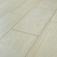 Wickes Travertine Tile Effect Laminate Flooring | Wickes.co.uk