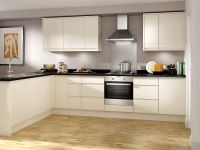 Madison - Cream Handle-less kitchen | Wickes.co.uk