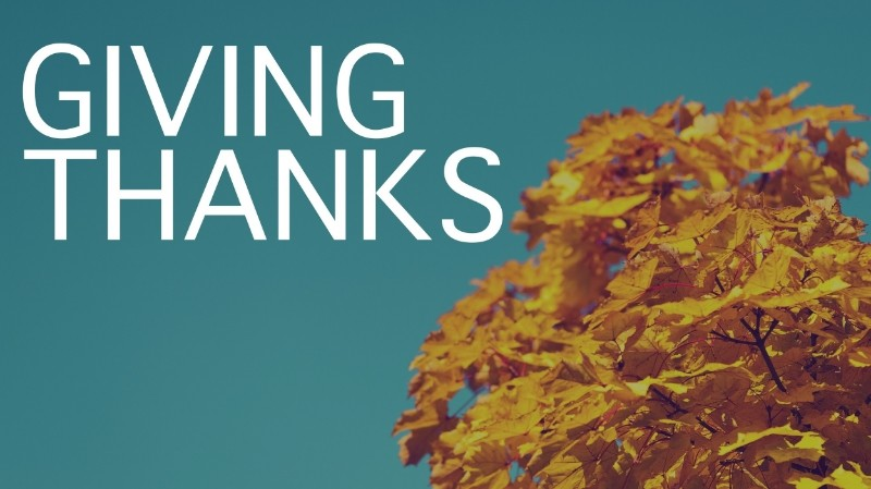 Giving thanks. What it is. The Results. Steps to take.