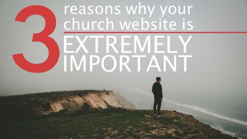 3 reasons why your church website is important