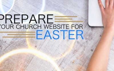 Prepare your church website for Easter