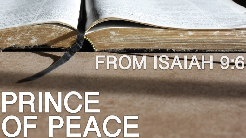Prince Of Peace (Isaiah 9:6)