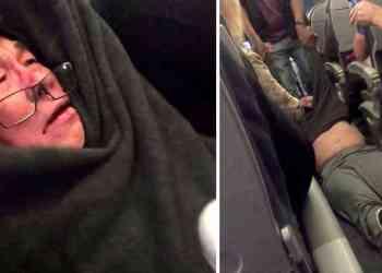 "dokter keturunan cina diseret dikeluarkan dari pesawat penerbangan united airlines - ""Kelebihan Penumpang"", Seorang Dokter diseret Keluar Pesawat Penerbangan United Airlines"