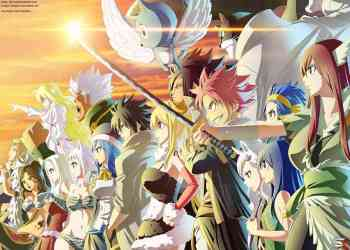 fairy tail telah memasuki arc terakhir dan akan tamat pada Alvarez Empire Arc
