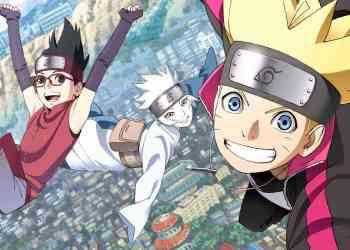 boruto, sarada dan mitsuki generasi ninja selanjutnya - naruto next generations