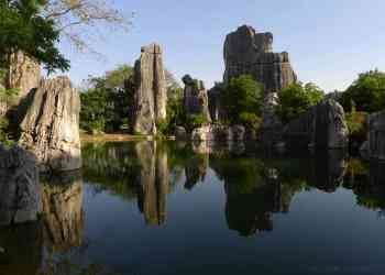 stone forest - Tempat-tempat Unik Ini Membuat Kalian Berpikir Keras