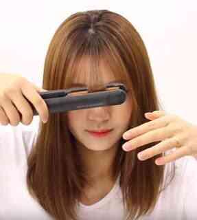 "Poni see through ala Korea 5 - Cara Memotong Poni 'See Through"" ala Korea"