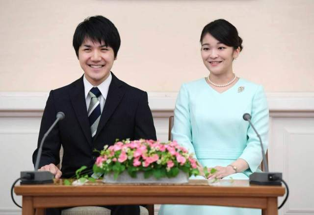 "pertunangan Putri Mako dan kekasihnya Komura - Cinta tak mengenal ""KASTA"", Putri Sulung KeKaisaran Jepang membuang status kerajaan demi menikahi orang biasa"
