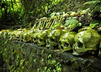 trunyan tulang belulang mayat manusia - Kamu suka horror ? berani ngunjungin 10 tempat paling menyeramkan di dunia ini ?