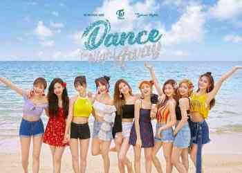 Nayeon Jeongyeon Momo Sana Jihyo Mina Dahyun Chaeyoung dan Tzuyu - Lirik Lagu TWICE - Dance The Night Away (Hangul, English dan Indonesia)