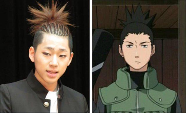 sico black b mirip dengan nara shikamaru dari anime naruto shippuden - Wow, Para Idol K-Pop ini Mirip Banget Dengan Karakter Anime