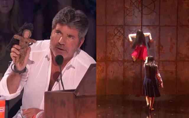 aksi te sacred riana di american got talent membuat simon kagum - Mengagumkan! Simon Cowell Ingin The Sacred Riana maju ke Final AGT 2018 Setelah Melihat Penampilannya