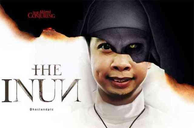 2 ternyata mimiper wajah valak sebenarnya 750x498 - Gagal Seram! Kumpulan Meme The Nun yang Lucu & Kocak Habis