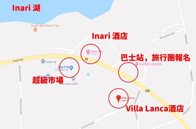 Map of Inari